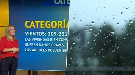 """Michelle Adam: """"Las precipitaciones se mantendrán en toda la zona central del país"""""""