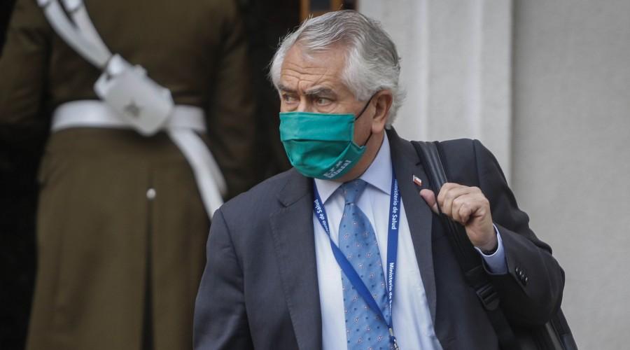 """Ministro Paris en informe Covid-19: """"Yo llamé a los alcaldes para avisarles de los desconfinamientos"""""""