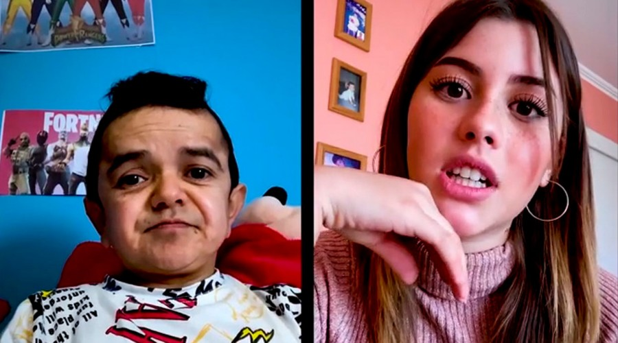 Miguelito le declaró todo su amor a Camila a través de Zoom