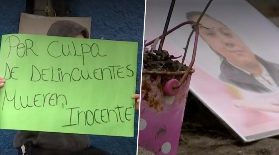"""Reportajes MG: Vecina murió por """"bala loca"""" cuando compraba pan en La Pintana"""