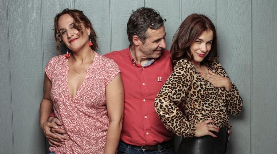 #100DíasEnFamilia: Hoy conversamos con el trío más divertido de 100 Días Para Enamorarse