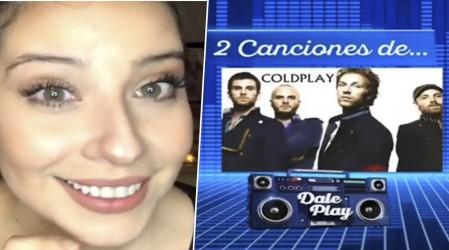 """""""Ruleta Musical"""": Coté Quintanilla se la jugó en el nuevo juego de #DalePlayLive"""