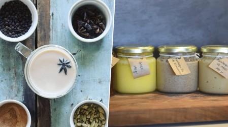 Emprendedores Mega: Datos de té orgánico y mantequilla de maní en Especial Alimentación Saludable