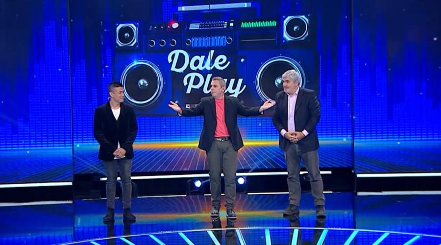 Américo y Nicolás Larraín se enfrentaron en una estrecha competencia en Dale Play