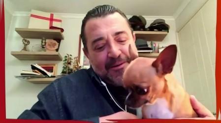 """""""Conexión Única con mis mascotas"""": Leo Caprile nos presenta a Petunia, Barti y la gatita Ema"""