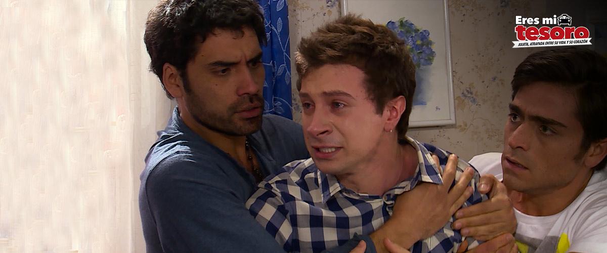 ¡Benjamín no quiere reconocer a Rodrigo como padre!