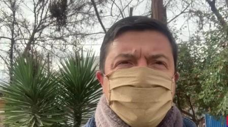Gonzalo perdió su casa y trabajo por la pandemia