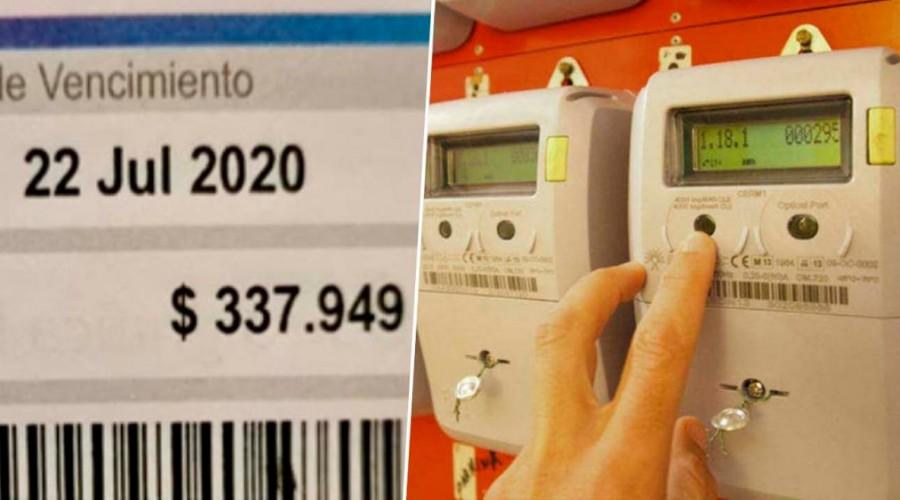 """Denuncian que cuentas de luz suben de 50 a 300 mil pesos: Superintendente explica que """"tarifa no ha variado"""""""