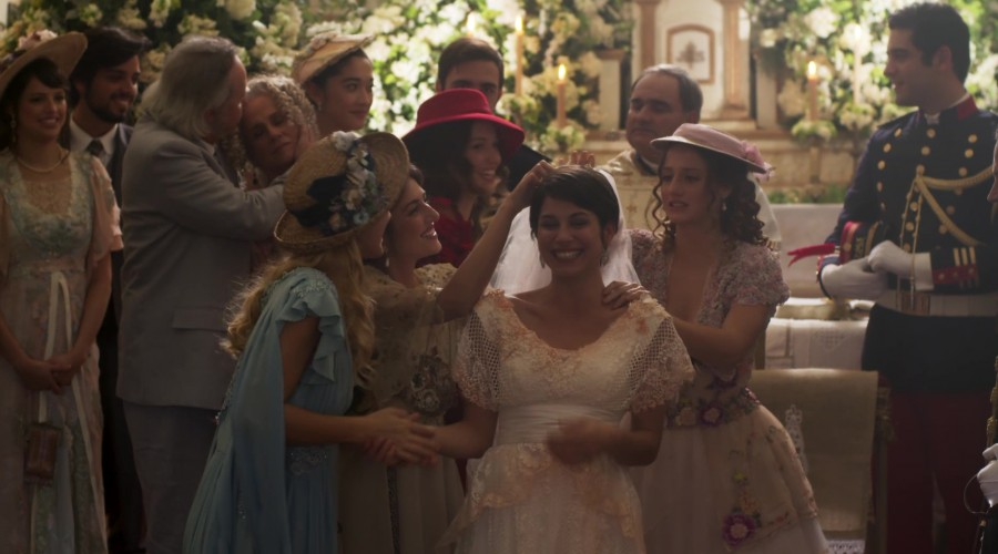 Llegó el dia de la boda de Mariana y el coronel Brandao (Parte 2)