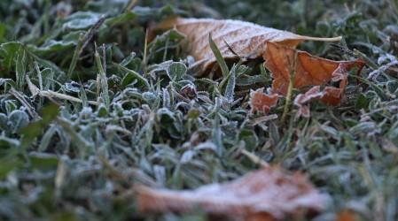 Este jueves se registró la mañana más fría en toda la zona centro sur del país