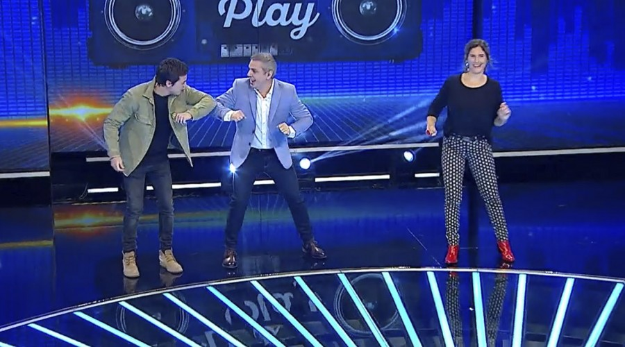 Francisca Imboden y Simón Pesutic se la jugaron por el pozo de 65 millones en Dale Play