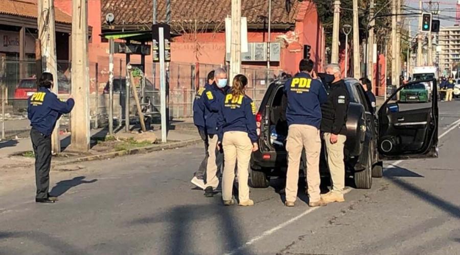"""Testigo de tiroteo en Conchalí: """"No es primera vez que pasa, ya no respetan a la autoridad"""""""