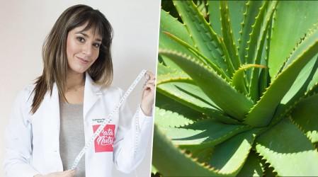 """Cata """"la nutri"""" explicará los beneficios del Aloe Vera en una nueva edición de #5TipsLive"""