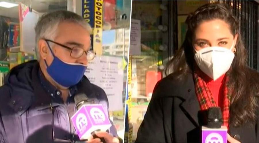 """""""Con la ayuda de todos vamos a salir adelante"""": Pedro abrió después de cuatro meses su librería en Ñuñoa"""