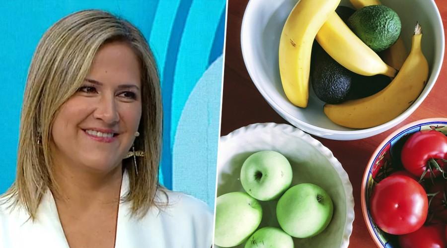 Más que una meteoróloga: Michelle Adam sorprende con tips sobre frutas y verduras
