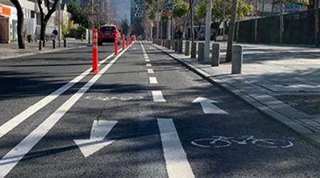 Gobierno anuncia 180 km de ciclovías temporales para evitar aglomeraciones