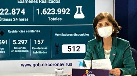 """Subsecretaria Daza en informe covid-19: """"La comuna de María Pinto retrocede al paso de Transición"""""""
