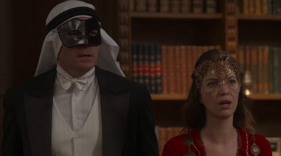 Brianna reapareció frente a Darcy y Elisabeta en la fiesta de máscaras (Parte 2)