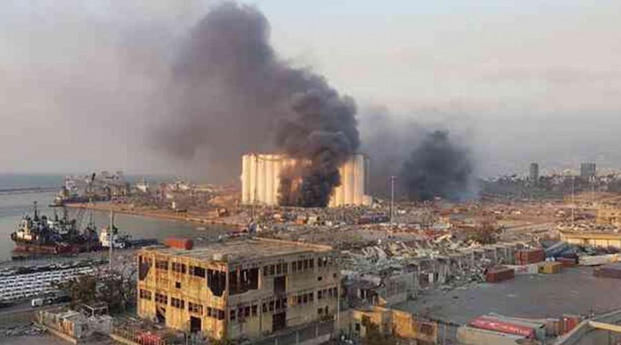 """Chileno que vivió explosión en Beirut: """"Lo que viví ayer me causó más pánico que el 27F"""""""
