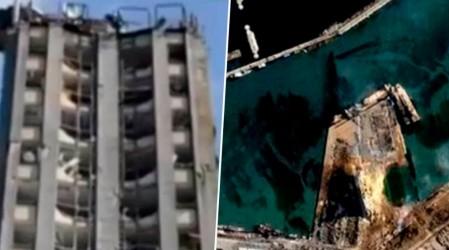 Chileno muestra cómo quedó el puerto de Beirut desde la zona cero de la explosión