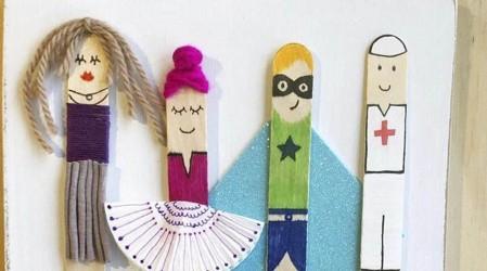 Arte Kids: Francisca nos enseña a hacer personajes con palitos de helado