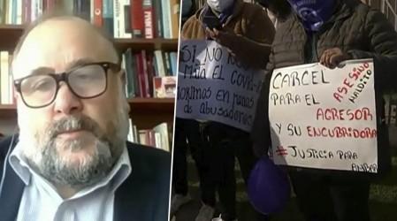 """Juez Flores: """"La comisión se amparó en la ley para darle la libertad a Bustamante"""""""