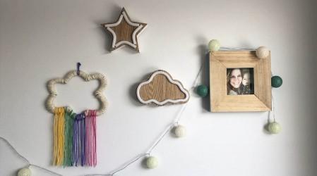 #DesafíoArteKids: Francisca nos enseña a hacer nubes y arcoíris con cartón