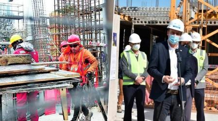 """Constructoras retoman obras: """"El 88% de los trabajadores quiere volver"""""""