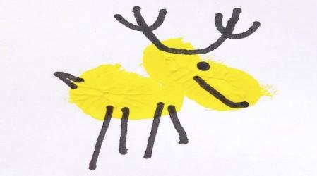 #DesafíoArteKids 5: Animales con manos pintadas