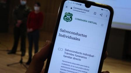 Comisaría Virtual: Carabineros informa que se prorrogará actual forma de obtener permisos