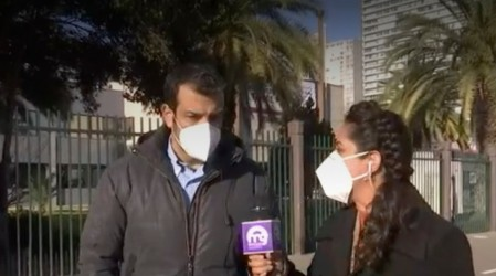 """Alcalde de Estación Central por transición: """"Debiésemos tener mayores facultades para enfrentar las crisis"""""""