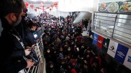 Tras aglomeración en Mall Chino: Agresiones a prensa y fiscalizadores