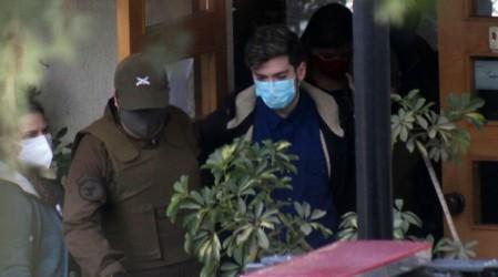 Nano Calderón fue trasladado al centro de justicia para su formalización