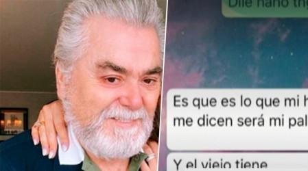 Polola de Nano Calderon presenta mensajes como prueba de denuncia de abuso sexual