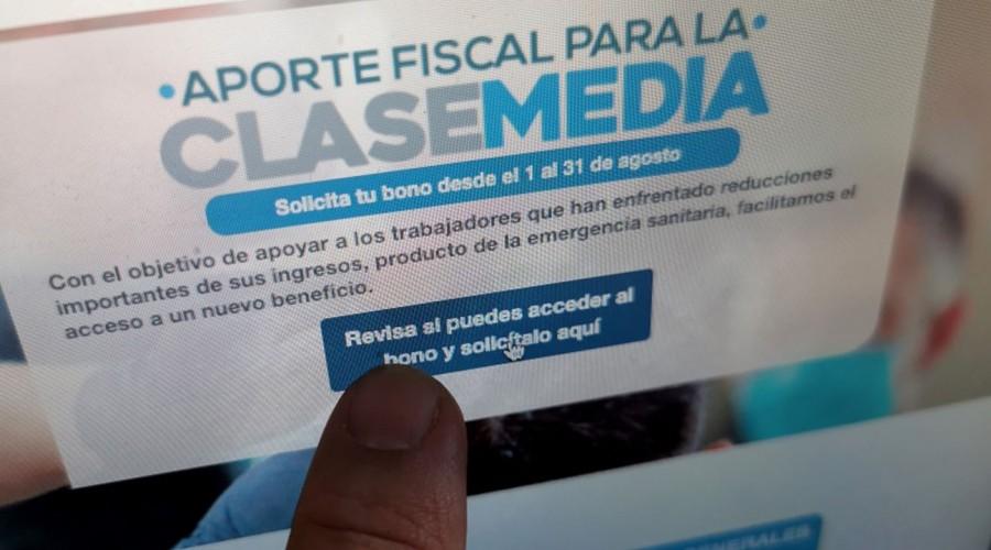 Bono $500 mil: Habilitan formulario para reintegrar el dinero en los casos que corresponda