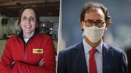 """Alcaldesa Leitao: """"Los dichos del ministro son muy desafortunados"""""""