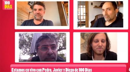 """""""Tenemos una cofradía"""": Fernando Larraín y la relación de los amigos en 100 Días Para Enamorarse"""