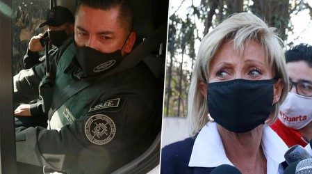 Gendarmes responden a Raquel Argandoña: Nano Calderón no está amarrado las 24 horas