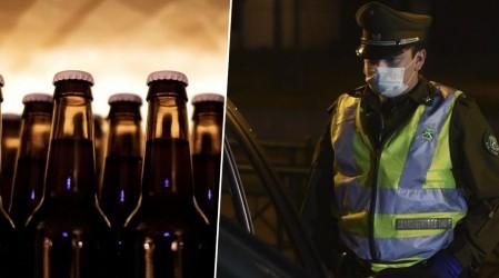 Policía detuvo a hombre que vendía alcohol en toque de queda: Decía que eran lácteos
