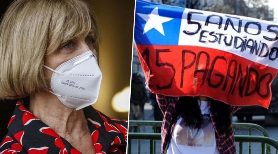 #PreguntasAlHuesoMG: Evelyn Matthei está de acuerdo con perdonazo total a deudores del CAE