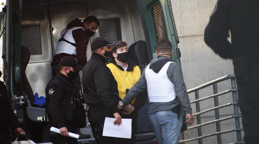 Nano Calderón fue trasladado a la cárcel Santiago 1 para seguir con la prisión preventiva