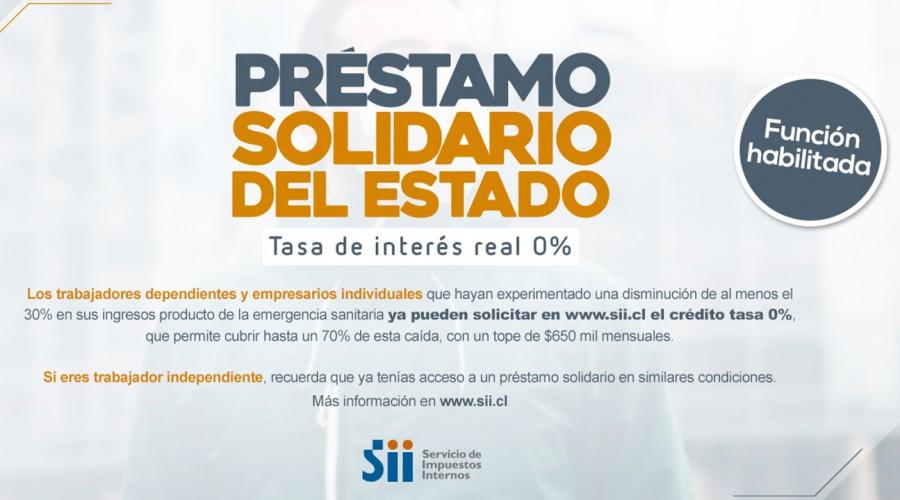 Desde el 8 de septiembre podrás solicitar el Préstamo Solidario Estatal