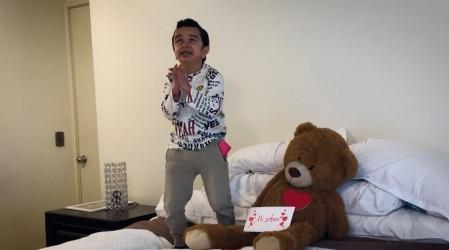 Miguelito recibió una declaración de amor por equivocación