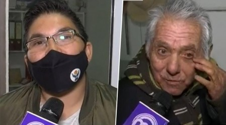 Televidente de Calama ayudó en vivo a persona mayor perdida a recordar su nombre