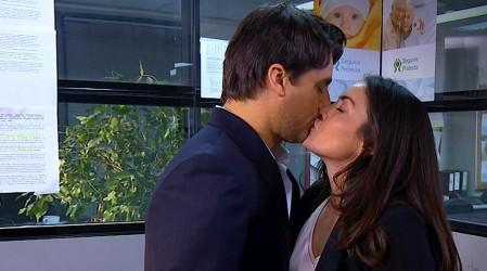 Ignacio y Cecilia se besaron
