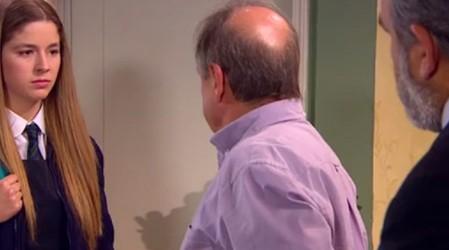 Belén le cuenta a su papá la verdad sobre Rafael