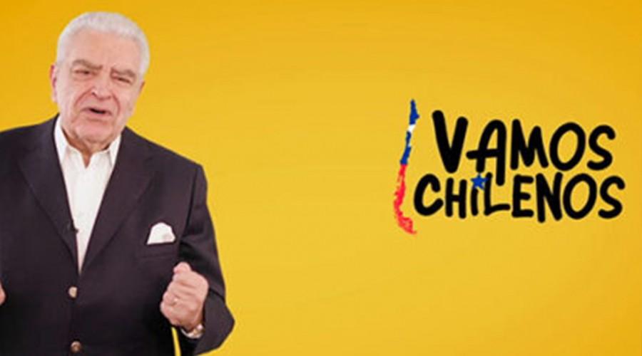 Estos son los animadores que estarán en el Muro Virtual de Vamos Chilenos