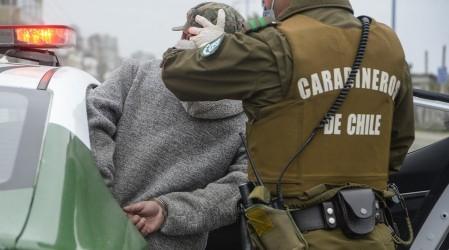 Hombre quiso evadir cordón sanitario en Coquimbo escondido en el maletero del auto