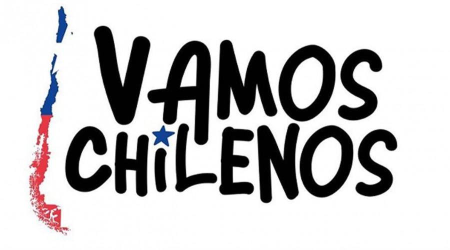 """Con el botón digital de tu banco puedes donar a la campaña """"Vamos Chilenos"""""""