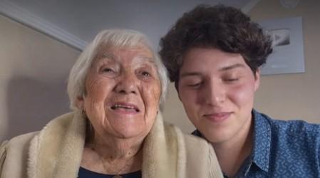 """Un año como """"tiktokers"""" y suman casi 4 millones de seguidores: La historia de Ignacio y su abuelita de 88 años"""
